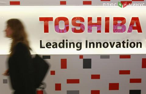 Капитализация Toshiba рухнула на $5 млрд задва дня