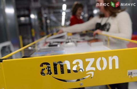 Amazon увеличил годовую прибыль в 4 раза